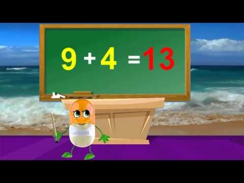 How To Add 9 | Tutorial | Kids Songs  Nursery Rhymes In English With Lyrics - http://best-videos.in/2012/11/04/how-to-add-9-tutorial-kids-songs-nursery-rhymes-in-english-with-lyrics/
