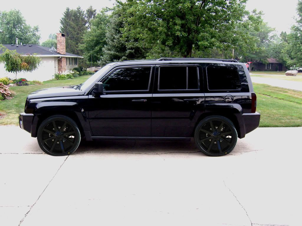 Jeep Patriot Black Rims Find The Clic Of Your Dreams Www Allcarwheels