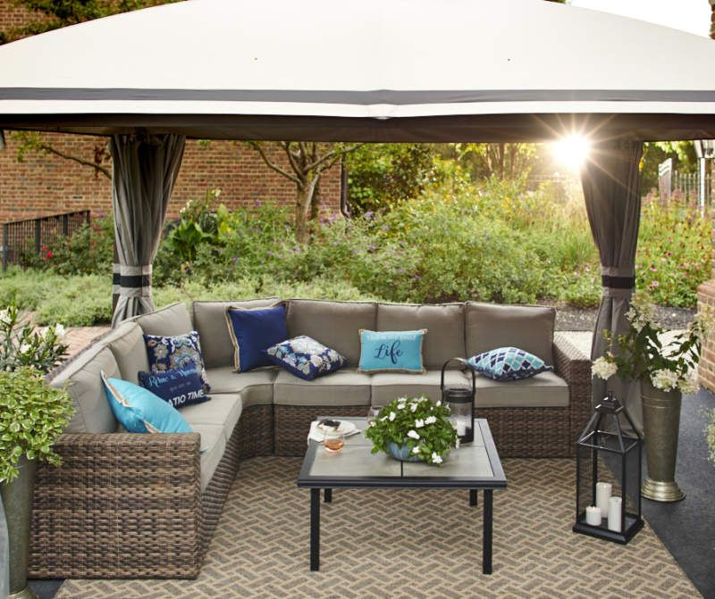 Broyhill Eagle Brooke Sectional - Big Lots in 2020 ... on Outdoor Sectional Big Lots id=88078