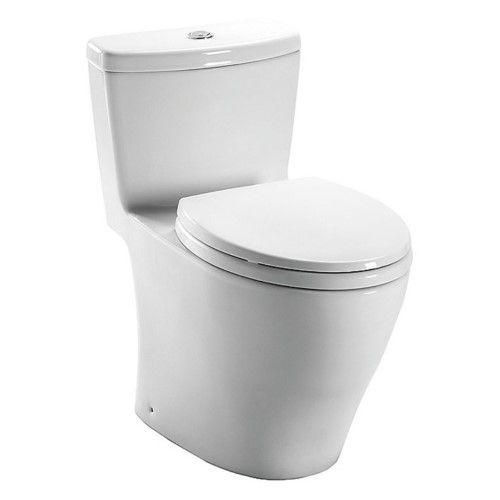 Toto Aquia Ms654114mf Elongated 1 Piece Toilet Primitive Bathrooms Toto Toilet Toilet Remodel