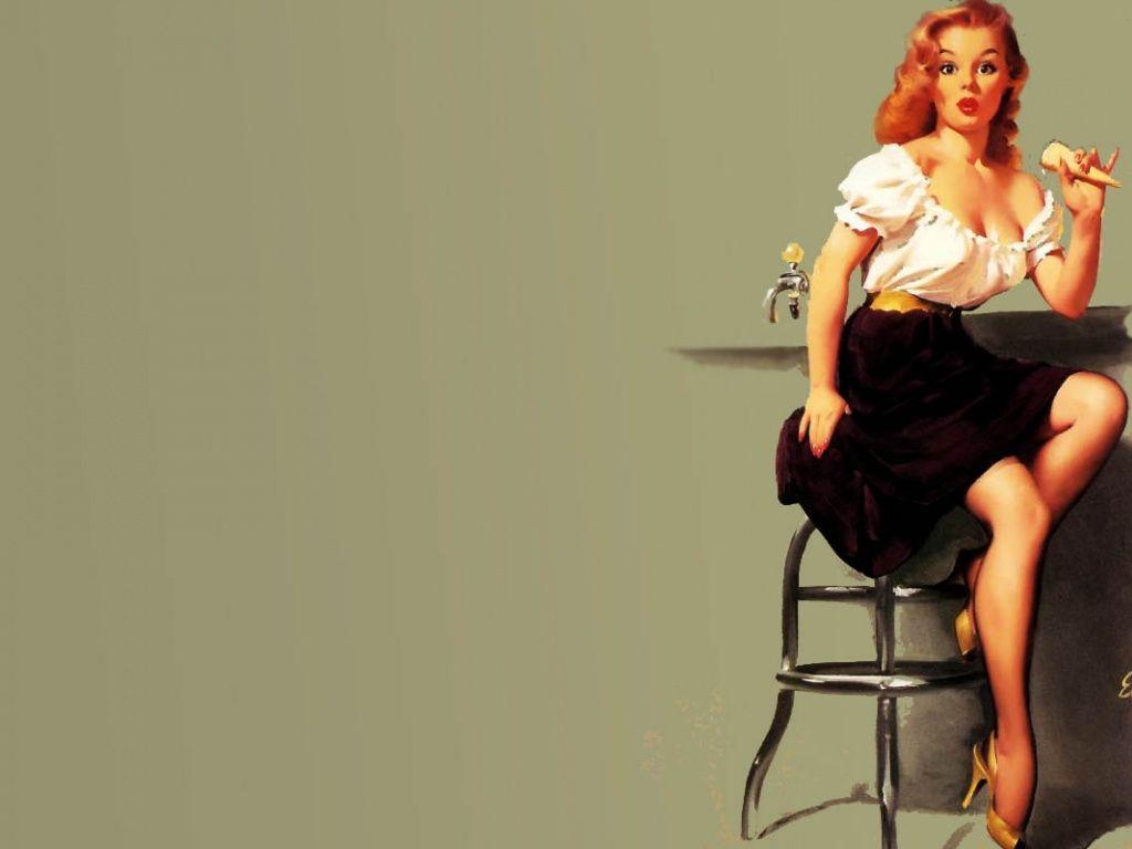 Oops Pinup Girl HD Desktop Wallpaper | Randoms | Pinterest | Pin up, Pin up girls and Wallpaper