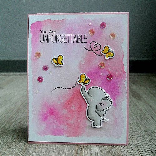 Adorable Elephants Card 1 | Flickr - Photo Sharing!