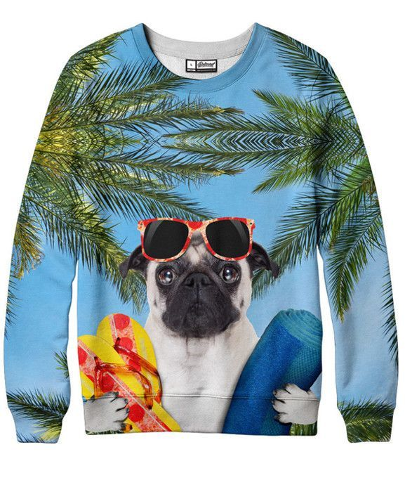 Doggie Vacay Sweatshirt  More at: http://livinglearningandloving.com/things-we-like-and-love/