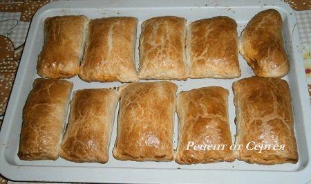 Пирожки с капустой в духовке - пошаговый рецепт с фото на