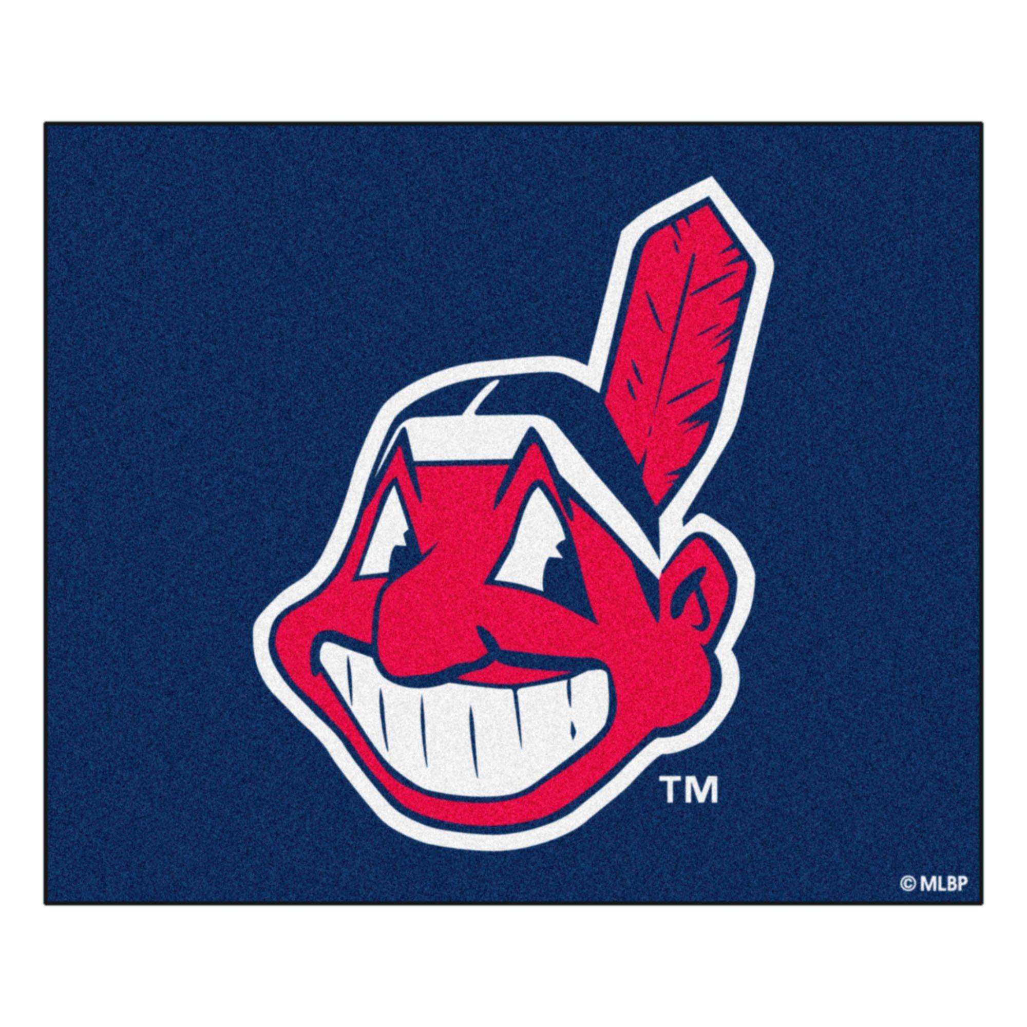 Mlb Cleveland Indians Tailgater Rug 5 X6 Cleveland Indians Logo Indians Baseball Cleveland Indians