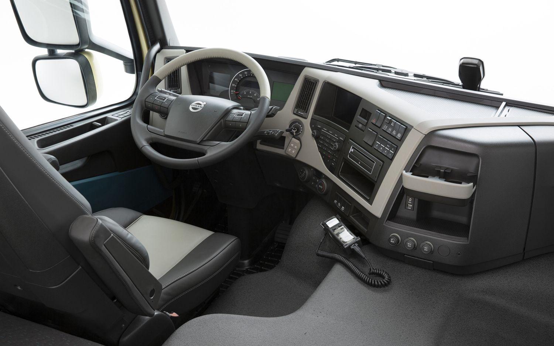 Volvo Trucks Interior Vrachtwagens Fotografie