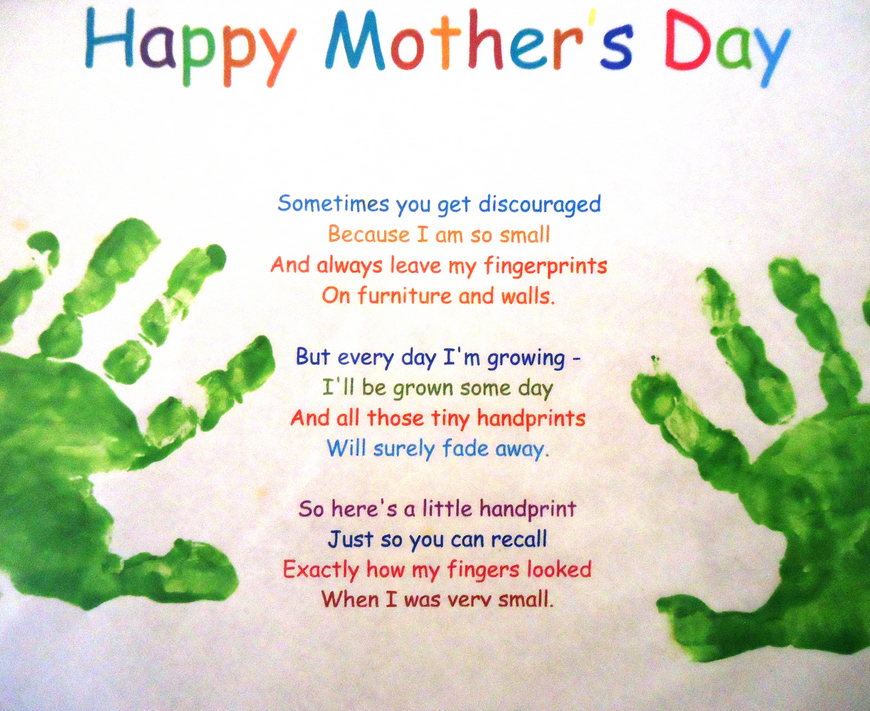 Happy Mothers Day Poems From Daughter And Son Cute Love