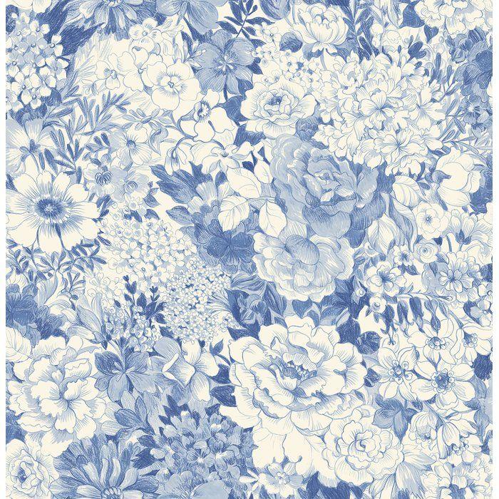Brewster Home Fashions Empress Kita Song Garden 33' x 20.5