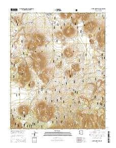 Az Topographic Map.White Horse Hills Az Topo Map 1 24000 Scale 7 5 X 7 5 Minute