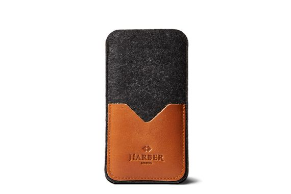 Black Edition – Leather Smartphone Cover Sleeve
