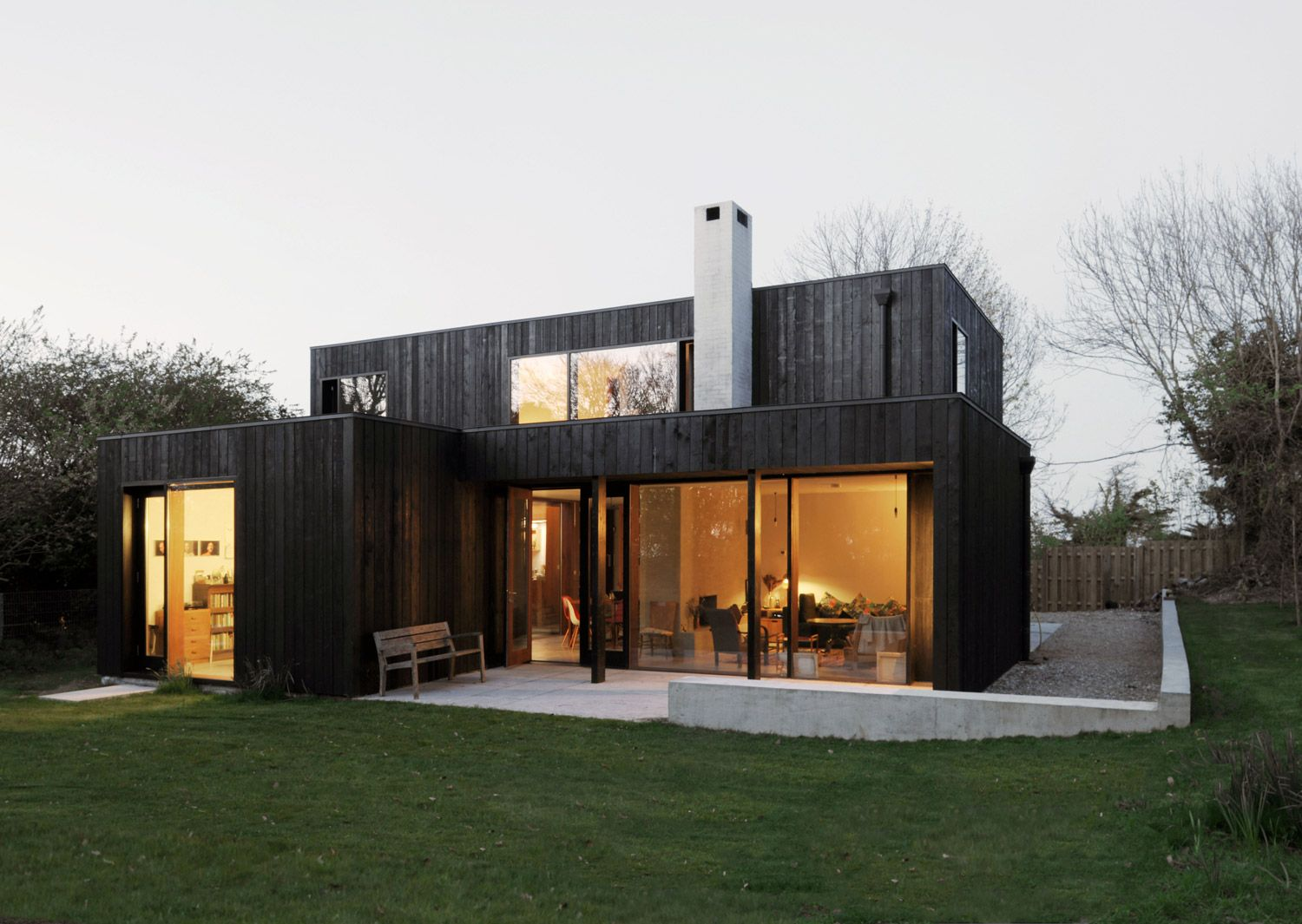 Dow jones architects project the sett einfamilienhaus efh