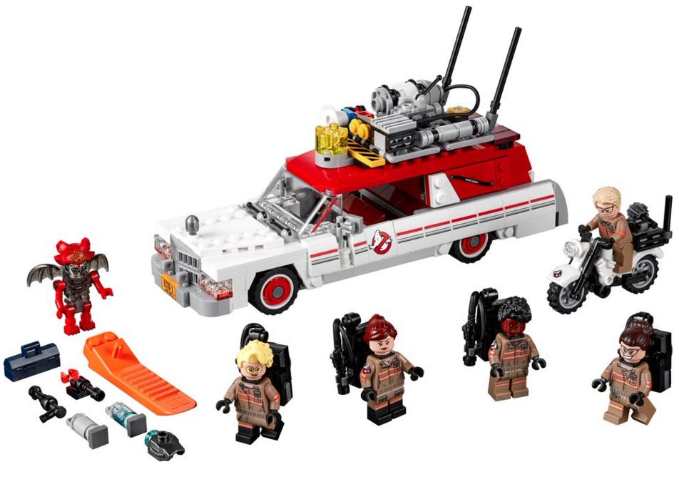 le reboot de ghostbusters s offre son premier set lego nouvelle voiture le chasseur et chasseurs. Black Bedroom Furniture Sets. Home Design Ideas