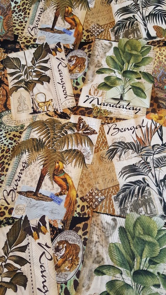 Pin on Exotic Animal Prints Fabric for Sale