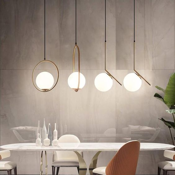 Rod Modern Pendant Light Interior Farmhouse Pendant Lighting