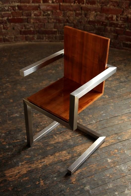 Modern Industrial Metal Chair. Dun4Me Is The Marketplace For Custom Made  Items Built To Your