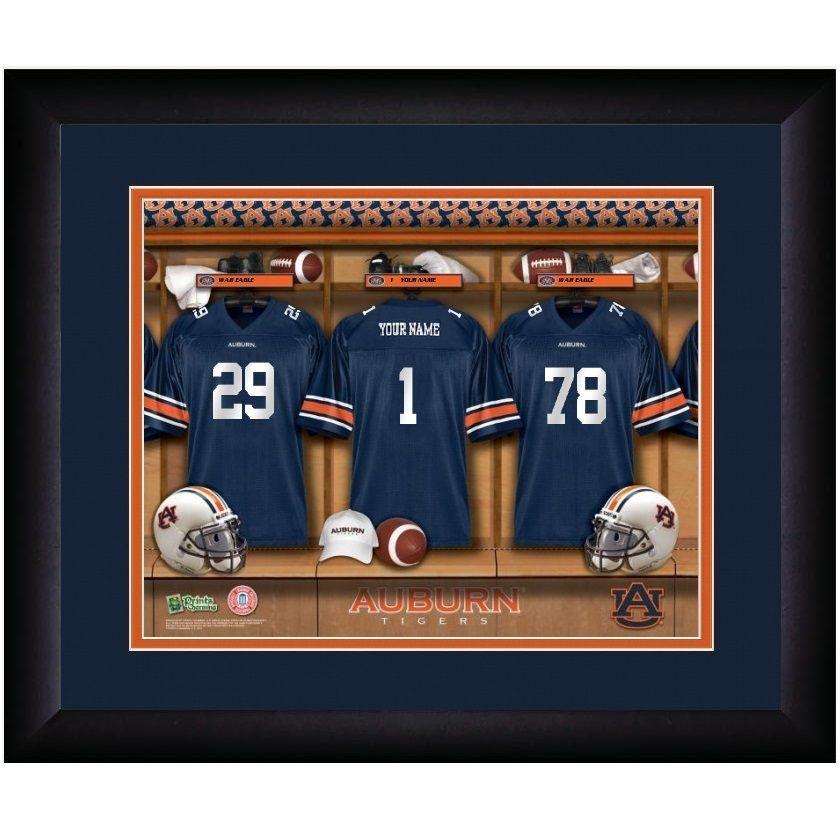 x 6 in Wood Photo Frame NCAA Auburn Tigers Team Name 4 in