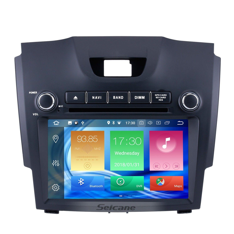 Seicane 8 Inch 2012 2013 2014 Chevy Chevrolet Trailblazer S10 Android 8 0 Radio Dvd Gps Navigation Sytem Gps Navigation Chevy Chevrolet Gps
