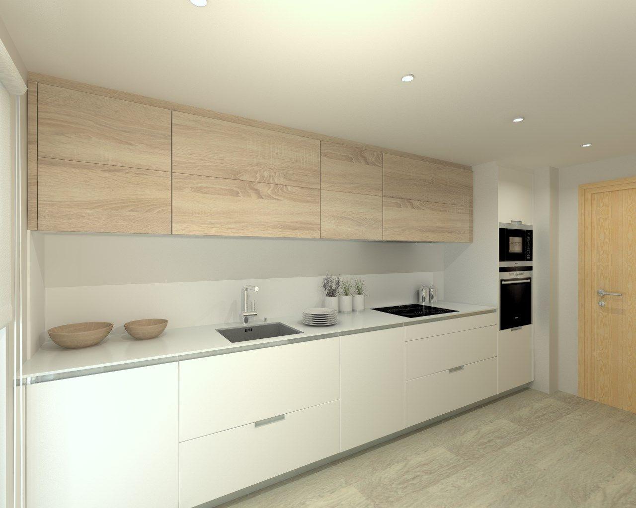 Proyectos de cocina en madrid cocina cocinas cocinas for Guardas para cocina modernas