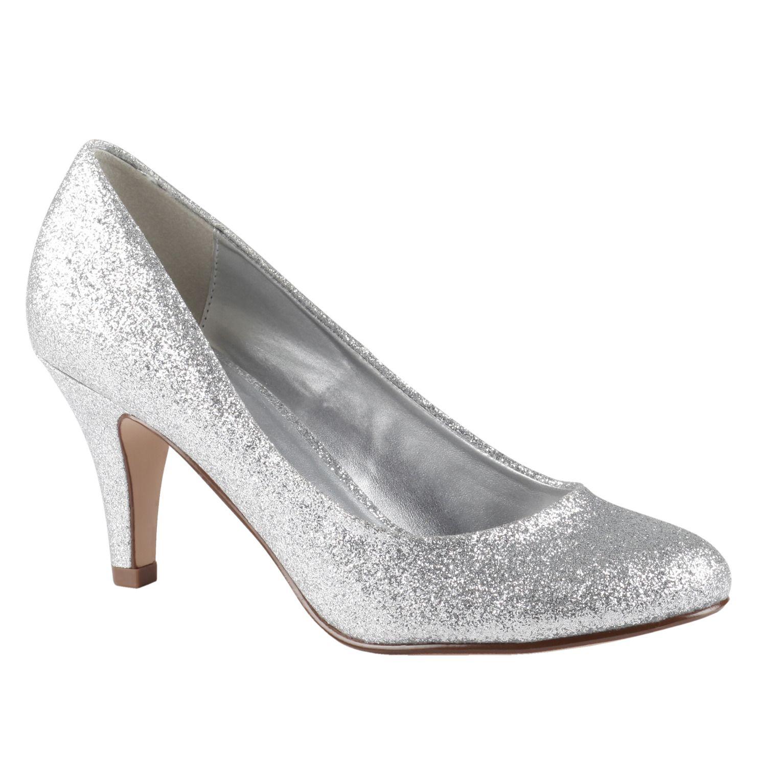 Vegan shoes, Glitter pumps