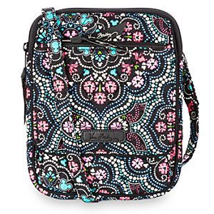 Mickey and Minnie Mouse Medallion Mini Hipster Bag by Vera Bradley   Disney  Store Tiptoe through the tulips with Mickey and Minnie with this hands-free  hip ... b70136b613