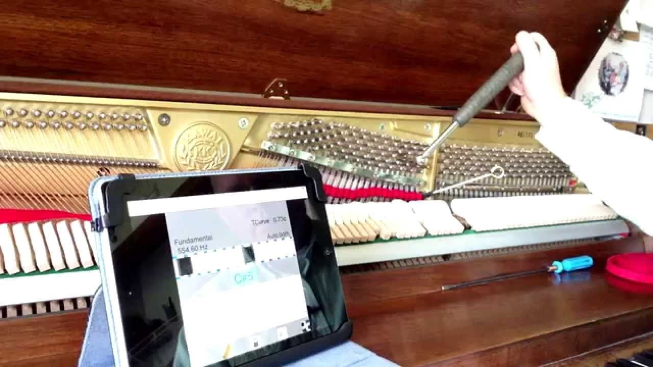 Piano Tuning How to Tune A Piano Part 5 Tuning the