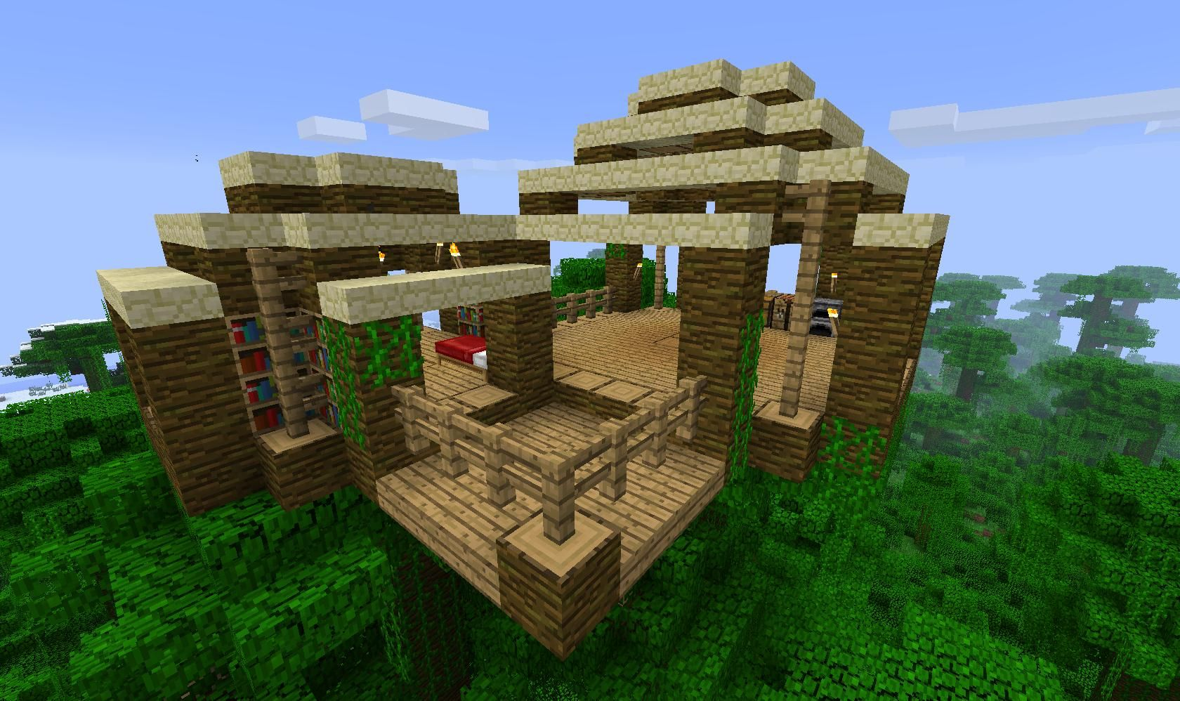 Minecraft Pe Seeds With Pre Made Buildings