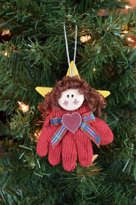 Angel Christmas Tree Ornament Christmas Tree by KanikesCorner