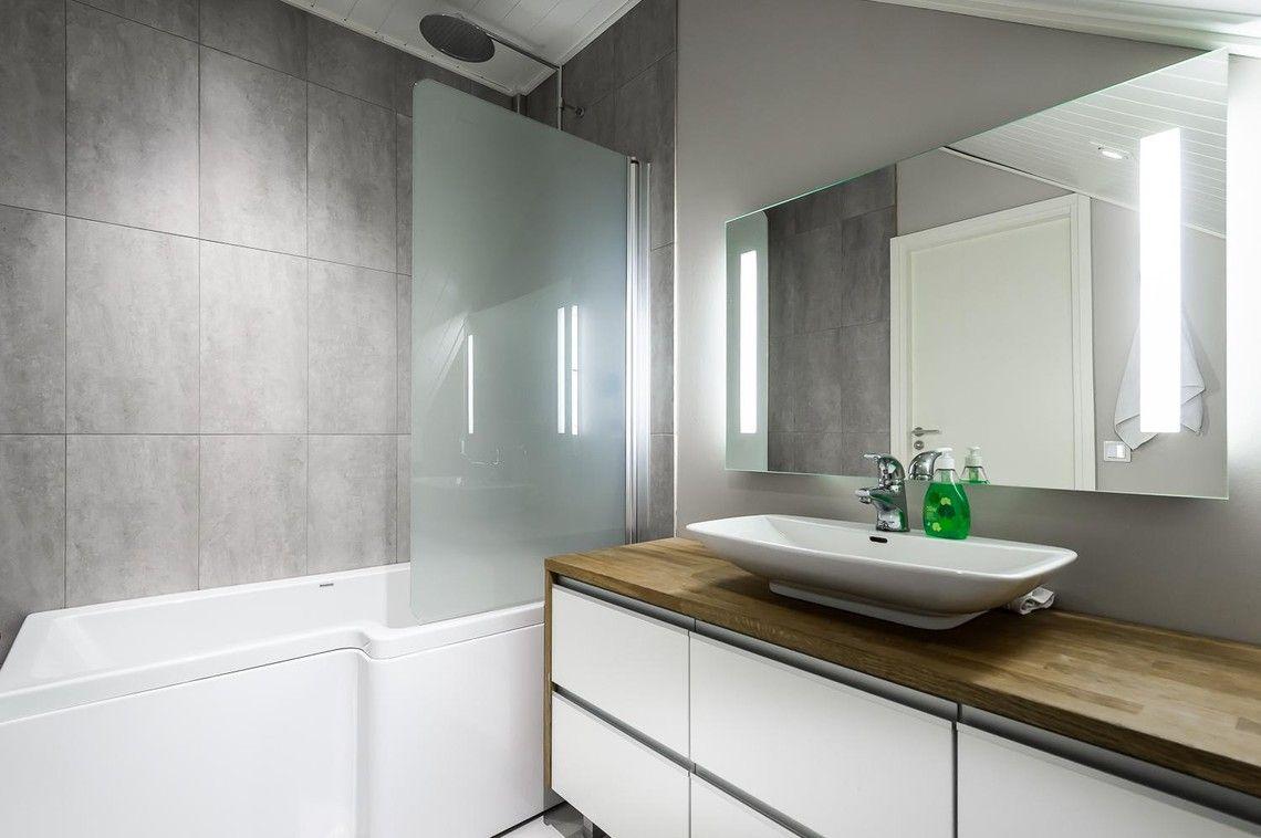 Moderni kylpyhuone 7671938 - Etuovi.com Ideat & vinkit