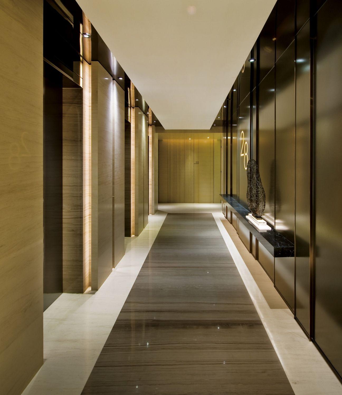 Moty 39 s design ltd lift lobby lobby design lobbies for Hotel corridor decor