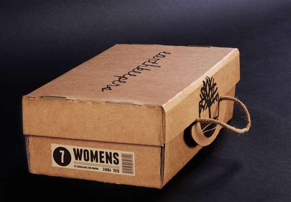 Eco Friendly Folding Packaging | Shoe box design, Packaging