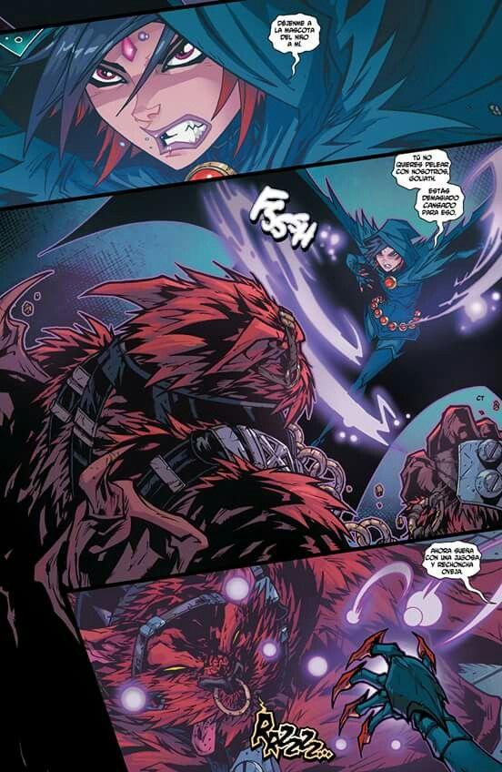 Teen titans raven comic