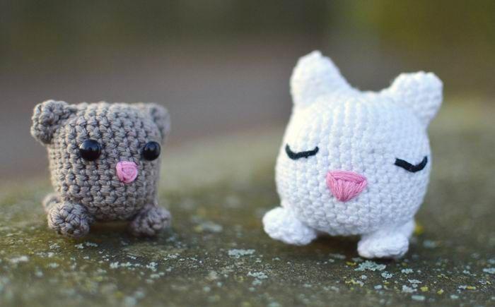 Amigurumi für Anfänger Katzen Bastelshop und Hobby VBS Bastelbedarf ...