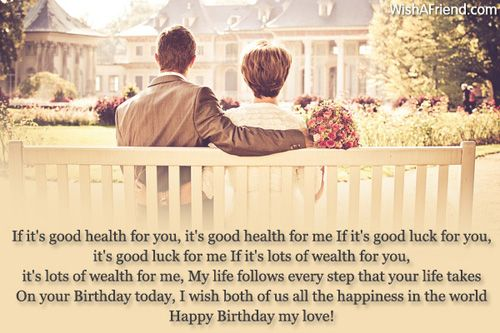 If It S Good Health For Birthday Wishes For Girlfriend Birthday