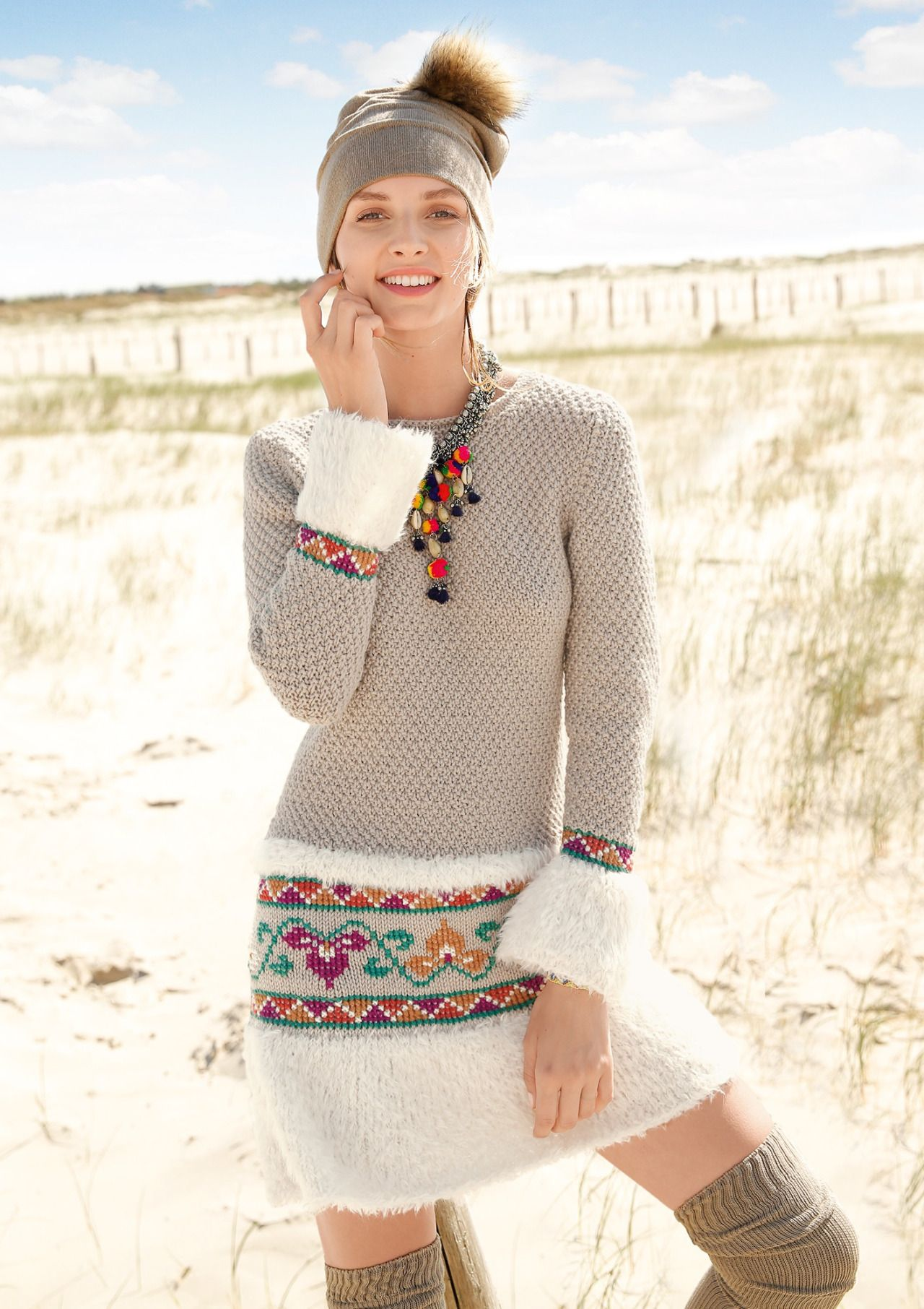 beautiful knitting : Photo   Upcycling   Pinterest   Vestido de lana ...