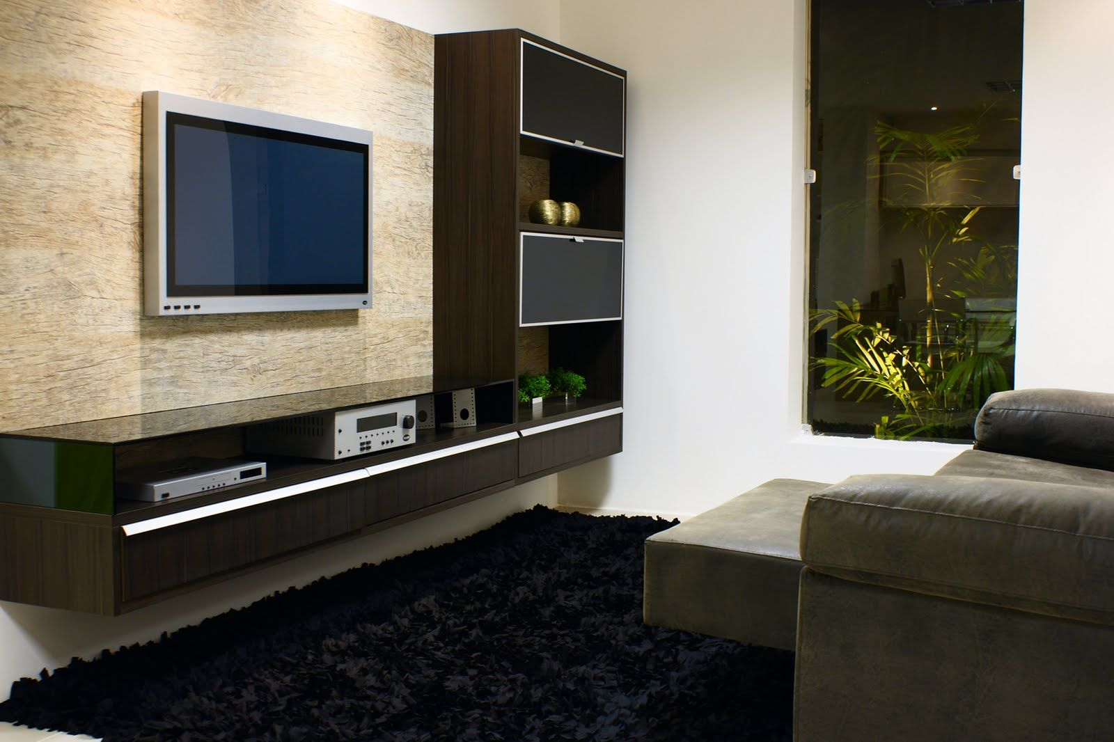30 Tipos De Moveis Sob Medida Para Sala Tv Walls Living Rooms And  -> Sala Moveis Planejado