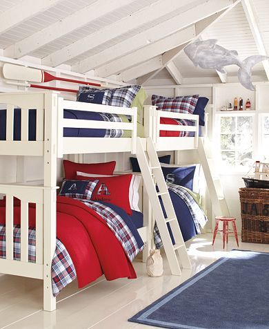 Simple boys bed sets