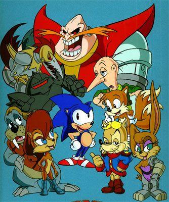 Sonic The Hedgehog Characters Sonic Satam Kids Cartoon Characters Sonic