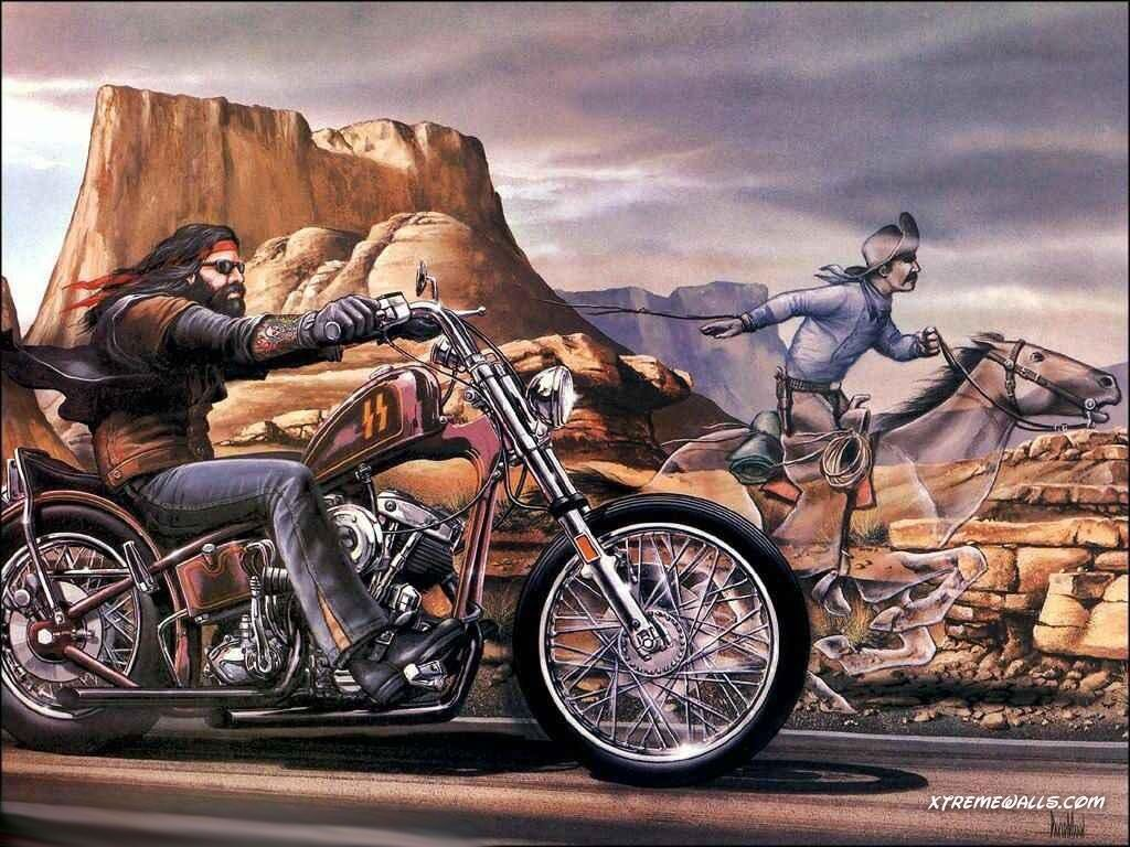 David Mann Wallpaper For Computer Harley Davidson Wallpaper Info The Wallpaper Is Resized To Fit David Mann Harley Davidson Kunst Fahrradkunst