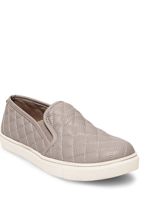 65aac2e5b03 Steve Madden Ecentrcq Slip On Sneakers- Grey