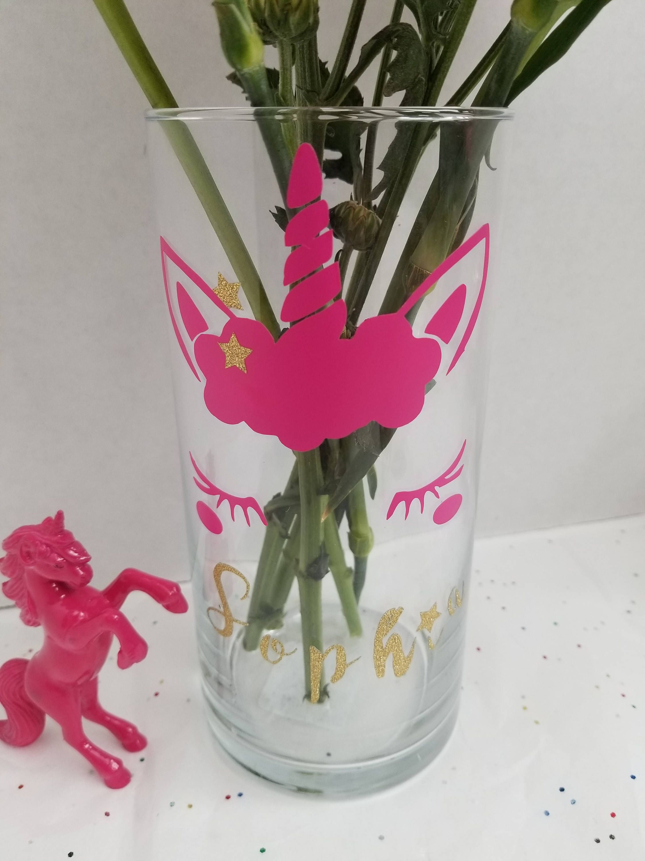 gifts personalised item flower personalized custom gallery vase wedding for gift display