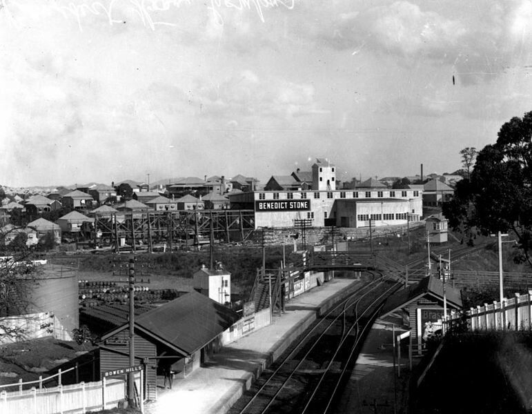 Bowen Hills Railway Station at Bowen Hills,Brisbane ...