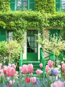 Giverny - Garten von C.Monet, voller Inspiration und jeden Besuch wert! #Monet #Garten #Tulpe