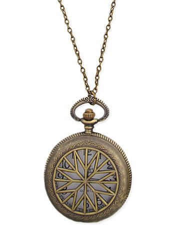 Victorian Times Watch Necklace | PLASTICLAND