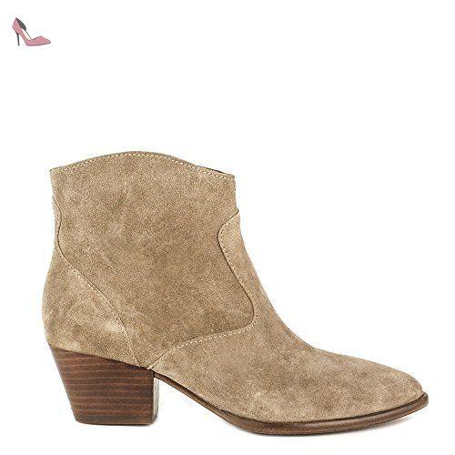 Uk Daim Ash 6 Femmes Baby Beige Heidi Chaussures Bottines nn1YIq