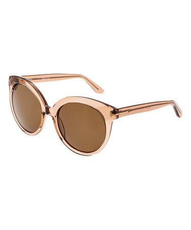d4063c490ba Bertha Rose Violet Oversize Sunglasses