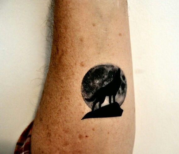 Pin By Kristen On Tattoos Moon Tattoo Tattoos Silhouette Tattoos