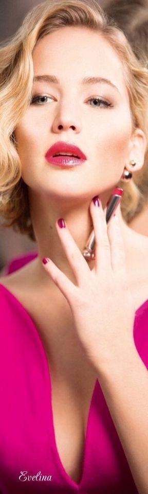 Jennifer Lawrence x Dior - Shine, don't be shy!