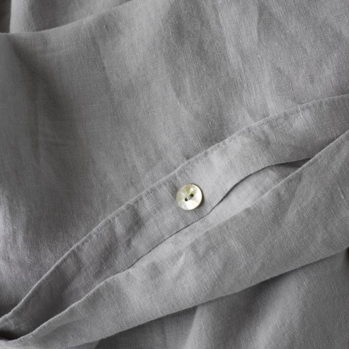 Dove Grey Bed Linen (duvet covers & sheet Sets)- Available from The Foxes Den www.thefoxesden.co.nz
