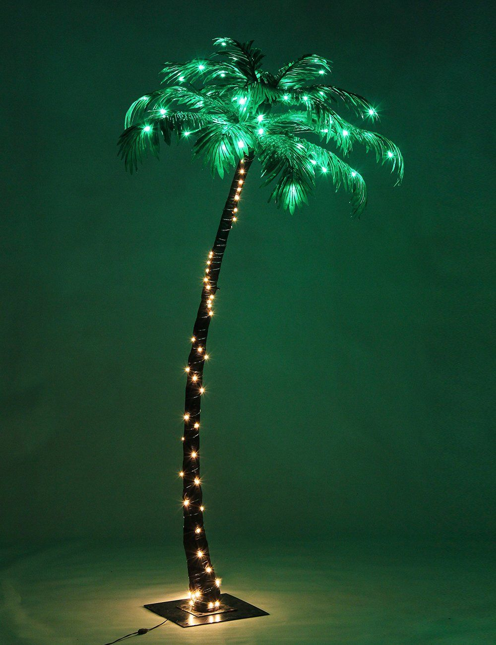 Lightshare Lighted Palm Tree Small Click On The Image For Additional Details Affiliate Link Christmastrees Palm Tree Lights Palm Trees Tree