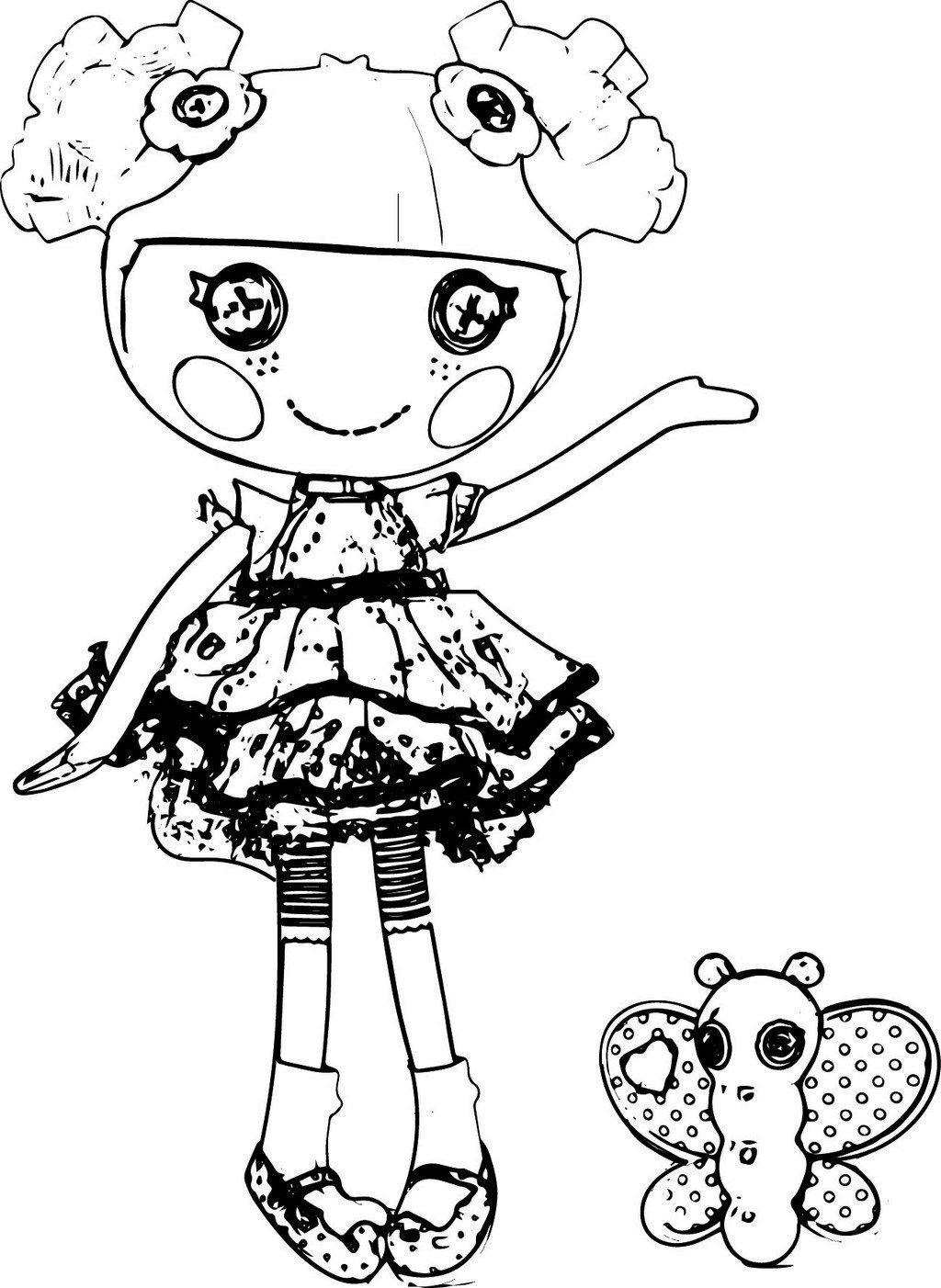 Blossom Flowerpot Lalaloopsy coloring page dolls | Cartoon coloring pages, Coloring  pages, Lalaloopsy